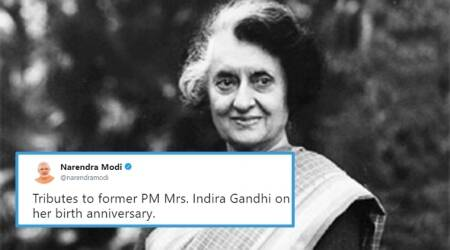Twitterati pay tribute to Indira Gandhi on her 100th birth anniversary