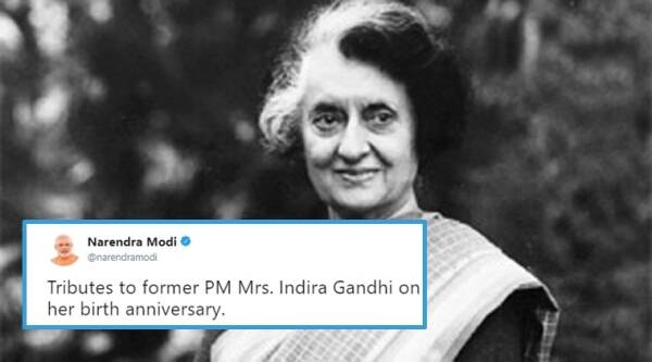 Indira Gandhi, Indira Gandhi tribute, Indira Gandhi twitter tribute, politicians paying tribute to Indira Gandhi