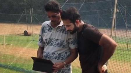 Irfan Pathan trains alongside former Delhi Daredevils bowling coach, watch video