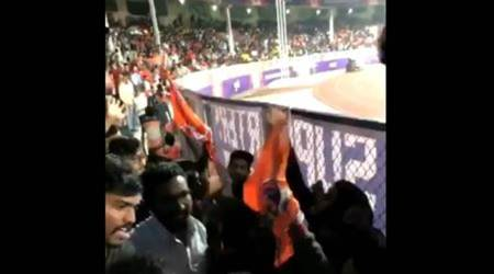 Pune City FC vs Mumbai City FC: Fans exchange heated words