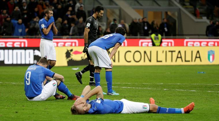 italy did not qualify for world cup 2018