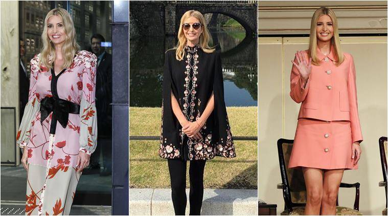 ivanka trump, ivanka trump tokyo visist, ivanka japan tour, ivanka trump style file, fashion diplomacy, ivanka kimono dress japan, ivanka non amercian designers, world news, fashion news, indian express