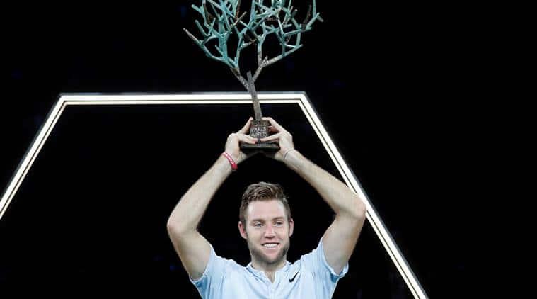 Jack Sock, Jack Sock vs Filip Krajinovic, Paris Masters, ATP Tour finals, tennis news, Indian Express