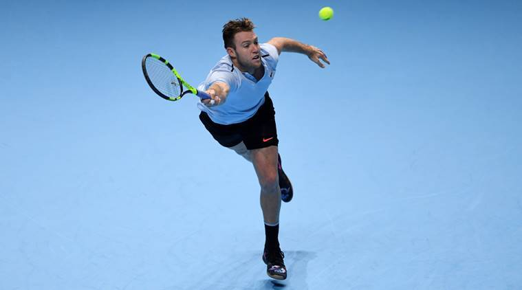 ATP Finals: Jack Sock keeps hopes alive with win over erratic Marin Cilic