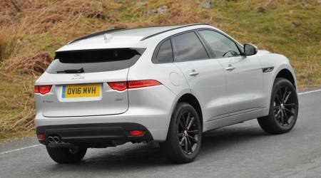 jaguar, land rover, indian automobiles, F-pace, new SUV, indian express, express online