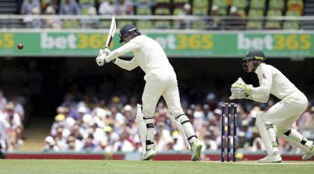 England are playing Australia in Ashes series first Test in Brisbane.