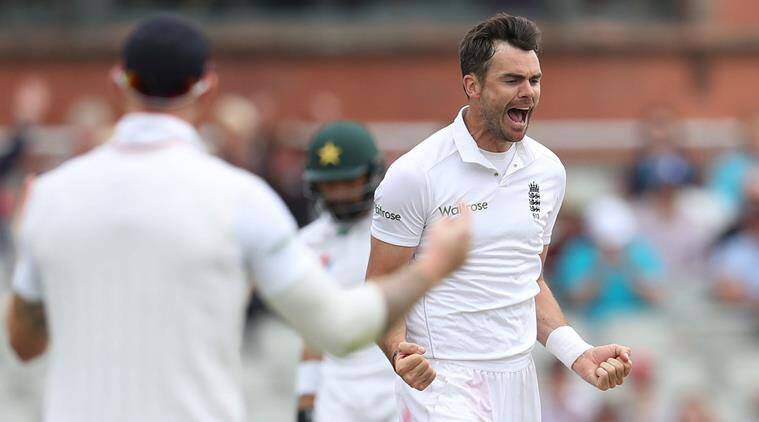James Anderson England bowler for Ashes 2017-18