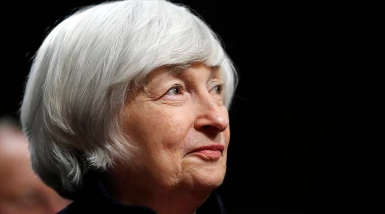 Janet Yellen to resign from Reserve board