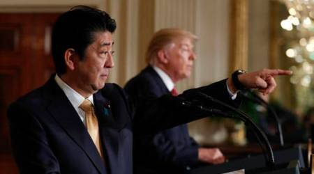 Donald Trump to play golf with Shinzo Abe during Japan visit