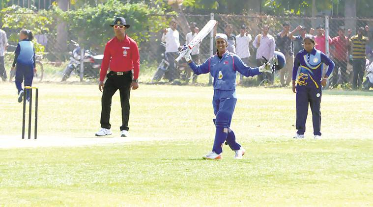 Jemimah Rodrigues, Jemimah Rodrigues India, Jemimah Rodrigues runs, Jemimah Rodrigues double hundred, India 'A', sports news, cricket, Indian Express