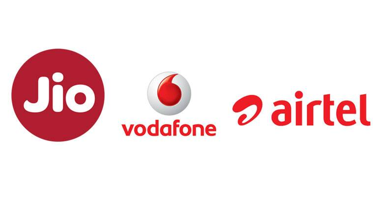 Reliance Jio vs Vodafone vs Airtel; who offers better
