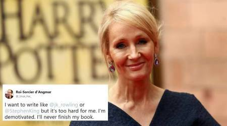 J K Rowling's reply to a struggling writer is winning hearts on Twitter