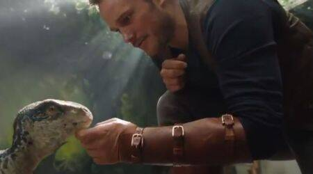 Jurassic World Fallen Kingdom sneak peek: Chris Pratt is back with a cute little dinosaur but we know it is going to turn into a beast