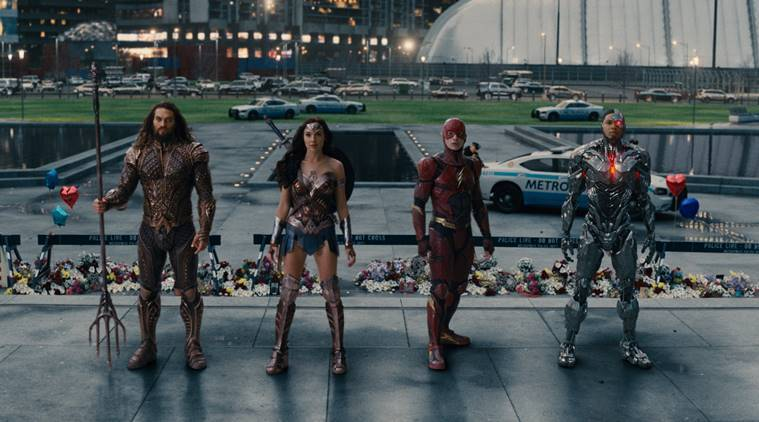 justice league movie is the first team-up movie of dc cinematic universe
