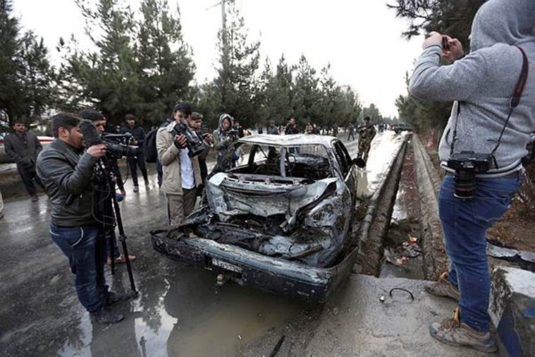 nine killed, Kabul blast, suicide bomber, political gathering and blast, bomb blast in Kabul,