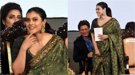 Kajol steals the show in a gorgeous Sabyasachi sari at Kolkata Film Fest opening ceremony