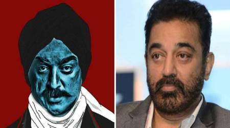 Being Bharathiyaar? Kamal Haasan's new look goes viral!