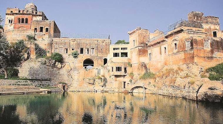 Katas Raj temple and its declining heritage in Pakistan