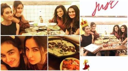 Katrina Kaif chilled with her gang of girls and had a perfect Saturdaynight