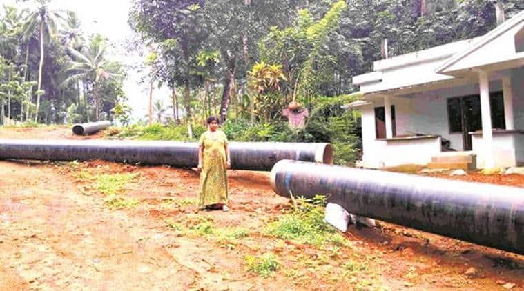 gail, gail project land acquisition, kerala govt, pinarayi vijayan, kerala news, indian express