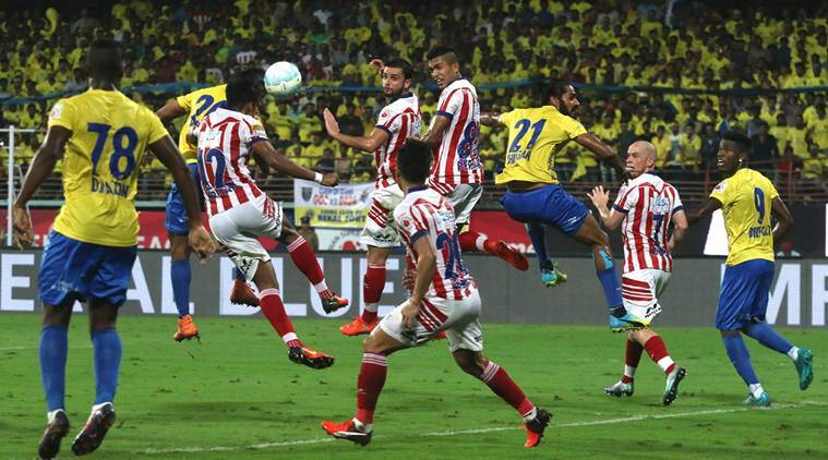 ISL, I-league, Kerala Blasters vs ATK , AIFF, sports news, football, Indian Express