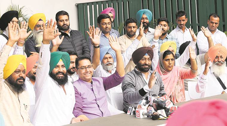 Sukhpal Khaira, Sukhpal Khaira  dissent issue, Punjab AAP, Aam Aadmi Party, Punjab politics, india news, indian express news