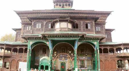Khanqah, Valley's oldest shrine damaged in fire