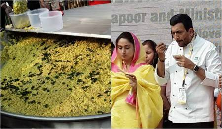 World Food India 2017: India sets Guinness World Record with 918kg of Khichdi