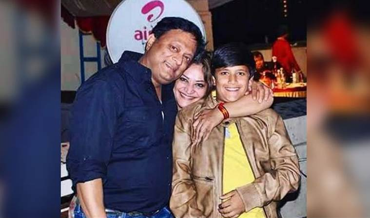Kiran Karmarkar and Rinku Dhawan son