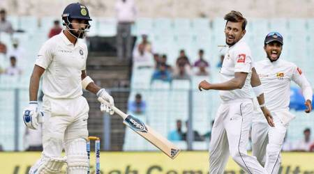 India vs Sri Lanka Stats: KL Rahul becomes sixth Indian to be dismissed off the first ball of a Test