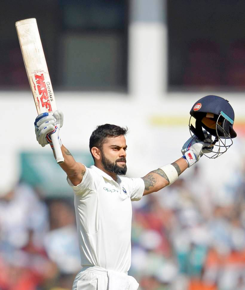 Virat Kohli records most centuries in a year by a captain