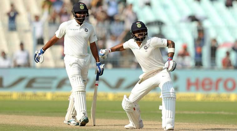 India vs Sri Lanka, Bhuvneshwar Kumar, Virat Kohli, Mohammed Shami, Suranga Lakmal, Shikhar Dhawan, sports news, cricket, Indian Express