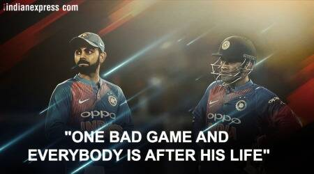 MS Dhoni doing absolutely fine, why are people pointing him out: Virat Kohli