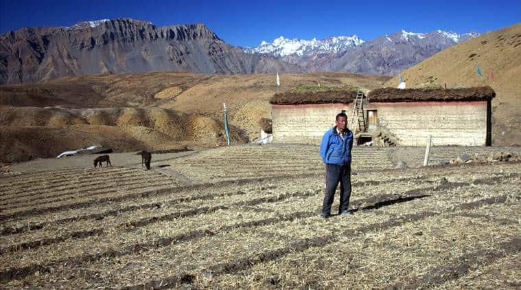 Spiti, Spiti valley, Spiti water crisis, Komic, Spiti climate change, Himachal Pradesh