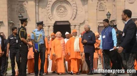 President Ram Nath Kovind visits houses of Tagore and Netaji, Belur Math