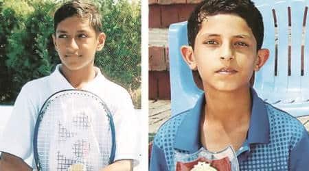krishan hooda, junior tennis team,Chandigarh Academy for Rural Tennis, clta stadium,Qatar Asian Junior Team Cup 2017, indian express