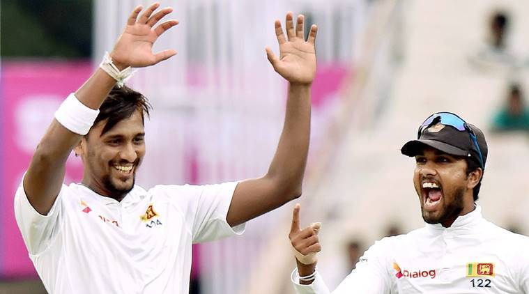 India vs Sri Lanka, Suranga Lakmal, Suranga Lakmal bowling, Suranga Lakmal wickets, Virat Kohli, Rumesh Ratnayake, sports news, cricket, Indian Express
