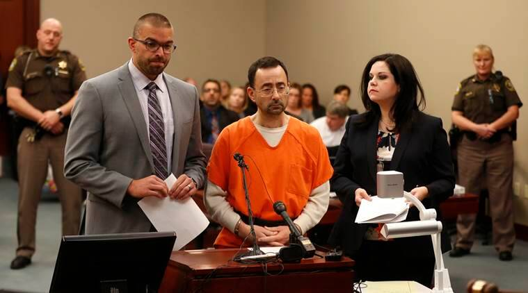 Larry Nassar, Sexual harassment, Sexual abuse victims, Sports doctor Nassar, Michigan, Indian Express