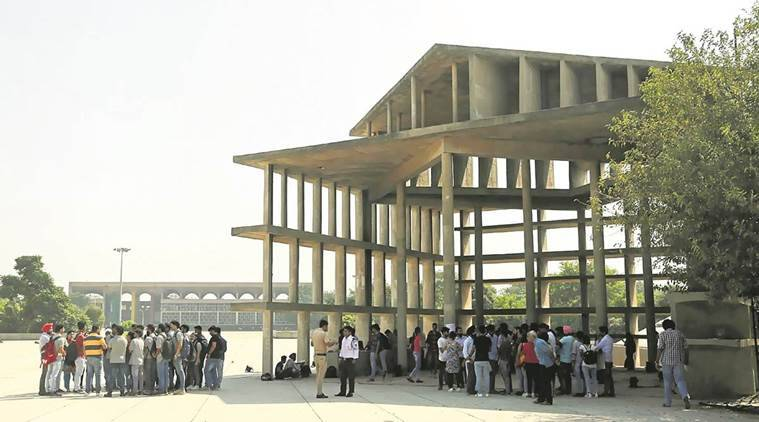 le corbusier, chandigarh french architect, art works by le corbusier, indian express