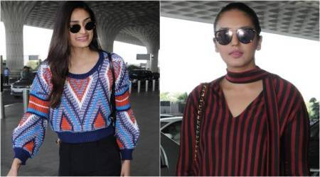 Athiya Shetty and Huma Qureshi make airport appearances but only one manages to impress
