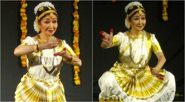 Mohiniyattam dance, Hisayo Mohiniyattam dance, indian classical dance abroad, classical dance in Japan, indian express, indian express news