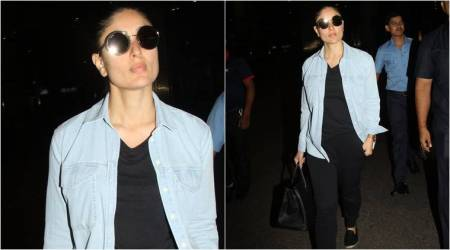 Airport Fashion: Kareena Kapoor Khan shows how to up the ante of your casual look