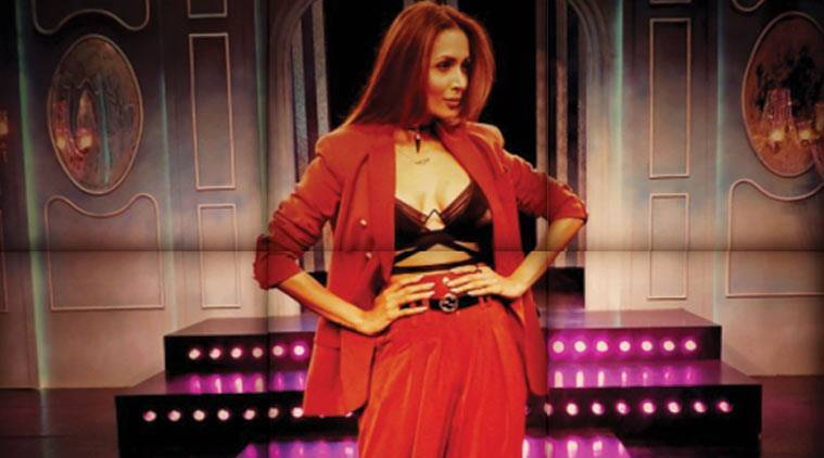 Malaika Arora at India's Next Top Model.