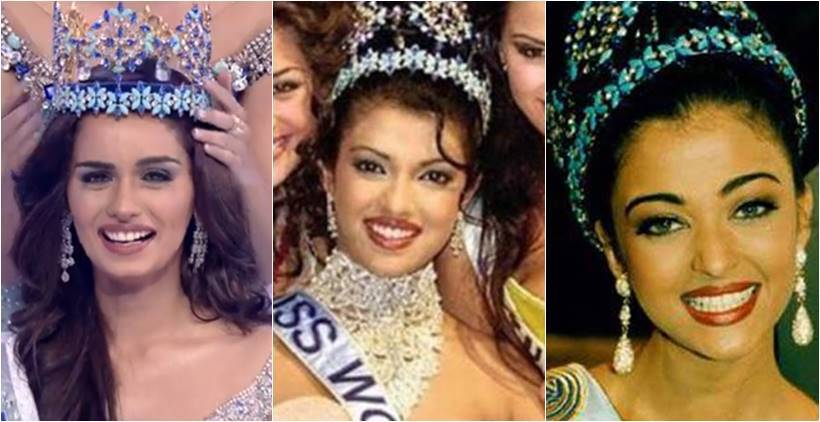 Miss World 2017 victor Manushi Chhillar crowned by Stephanie Del Valle