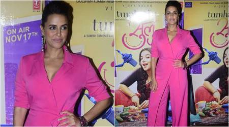 Why Neha Dhupia should drop hot pink suits from her wardrobe