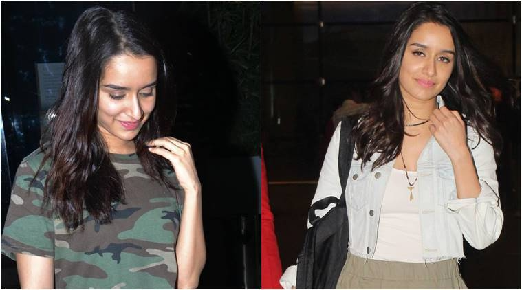 Shraddha Kapoor airport fashion and OOTD