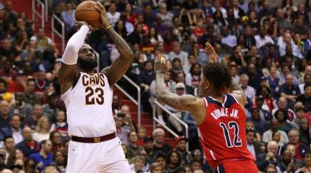 NBA: LeBron James scores 57, Cleveland Cavaliers pip Washington Wizards 130-122