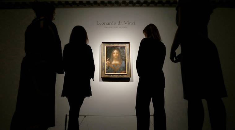 Leonardo da Vinci's painting 'Salvator Mundi' auction