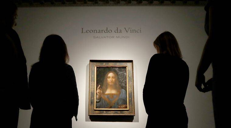 most expensive painting, leonardo da vinci, Salvator Mundi, Salvator Mundi auction price, Salvator Mundi history, art news, lifestyle news, indian express