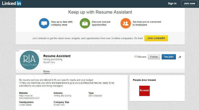 linkedin s new resume assistant feature bring searches